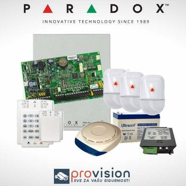 Paradox alarmni set sa unutrašnjom sirenom